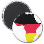 africa icon german flag magnet