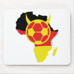 africa icon german soccer devil mouse pad