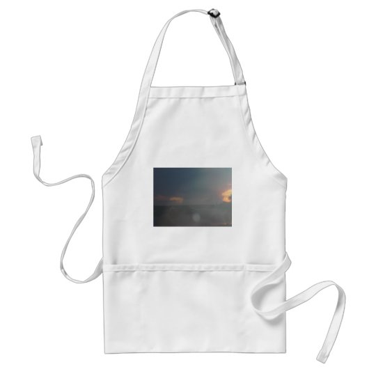 africa in the sky adult apron