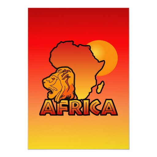 Africa Invitations
