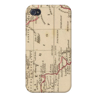 África iPhone 4/4S Fundas