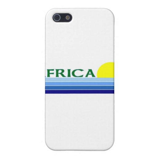 África iPhone 5 Cárcasa