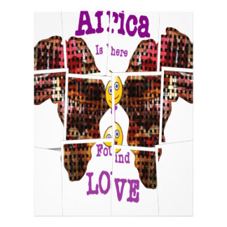 Africa is where I found Love Letterhead