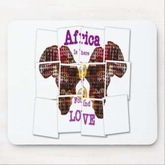 Africa is where I found Love Mouse Pad