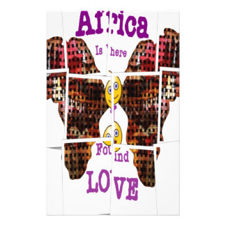 Africa is where I found Love Stationery