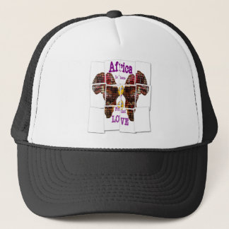Africa is where I found Love Trucker Hat