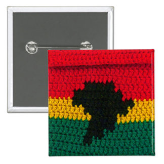Africa Jamaican Square Button
