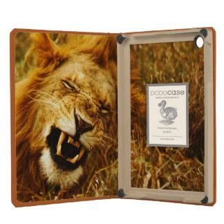 África, Kenia, Maasai Mara. León masculino. Salvaj