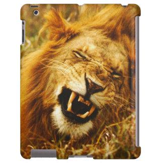 África, Kenia, Maasai Mara. León masculino. Salvaj Funda Para iPad