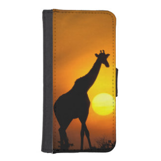 África, Kenia, Masai Mara. Jirafa (jirafa Funda Tipo Cartera Para iPhone 5