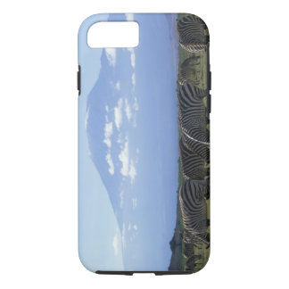 Africa, Kenya, Amboseli National Park, Herd of iPhone 7 Case