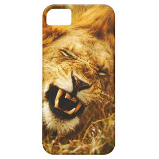 Africa, Kenya, Maasai Mara. Male lion. Wild iPhone 5 Case