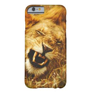 Africa, Kenya, Maasai Mara. Male lion. Wild Barely There iPhone 6 Case