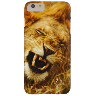 Africa, Kenya, Maasai Mara. Male lion. Wild Barely There iPhone 6 Plus Case
