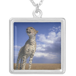 Africa, Kenya, Masai Mara Game Reserve, Adult 2 Silver Plated Necklace