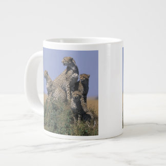 Africa, Kenya, Masai Mara Game Reserve, Adult 4 Large Coffee Mug