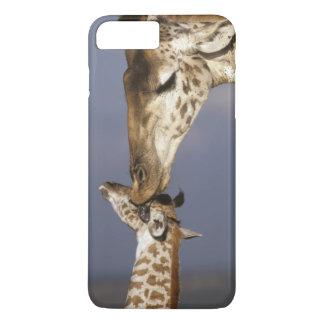 Africa, Kenya, Masai Mara. Giraffes (Giraffe iPhone 7 Plus Case
