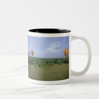Africa, Kenya, Masai Mara National Preserve, 2 Two-Tone Coffee Mug