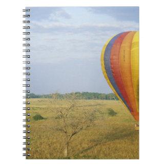 Africa, Kenya, Masai Mara National Preserve, Spiral Notebook