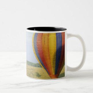 Africa, Kenya, Masai Mara National Preserve, Two-Tone Coffee Mug