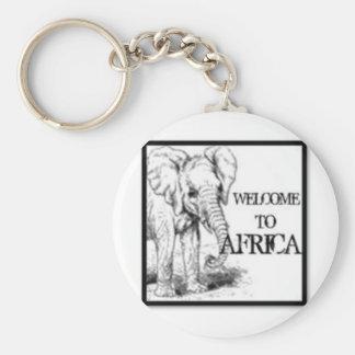 Africa Key Chain