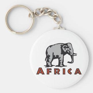 Africa Keychain