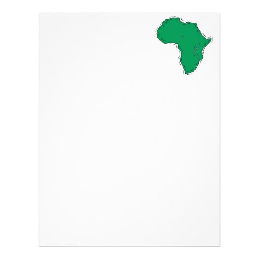 Africa Personalized Letterhead