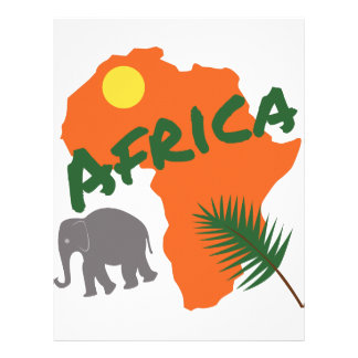 Africa Letterhead