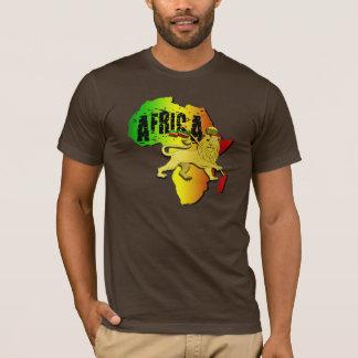Africa Lion of Zion Lion Reggae T-Shirt