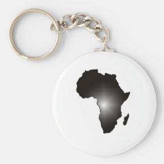 África Llavero Redondo Tipo Pin