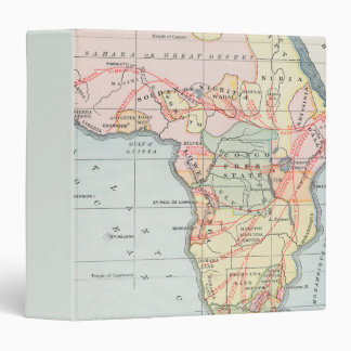 AFRICA: MAP, 1894 BINDER