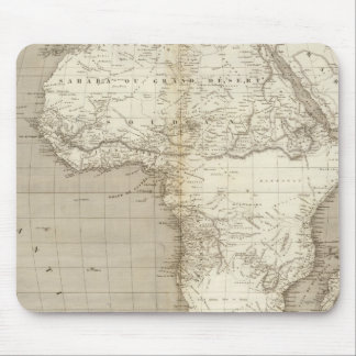 Africa map 2 mouse pad