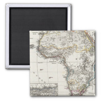 Africa Map by Stieler Magnet