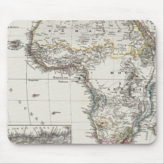 Africa Map by Stieler Mouse Pad