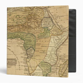 Africa  Map by Worcester 3 Ring Binder