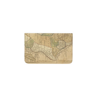 Africa  Map by Worcester Business Card Holder
