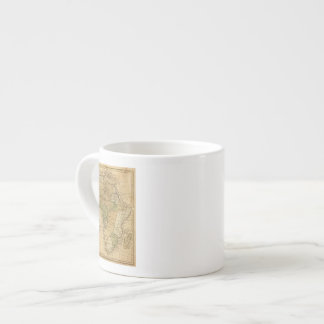 Africa  Map by Worcester Espresso Cup