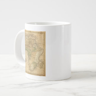 Africa  Map by Worcester Large Coffee Mug
