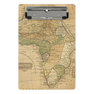 Africa  Map by Worcester Mini Clipboard