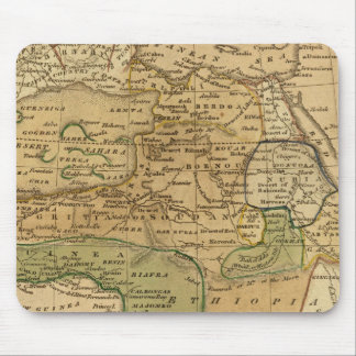 Africa  Map by Worcester Mouse Pad