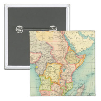 Africa Map with shipping routes Buttons