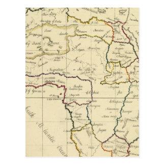 África, mediterránea postal