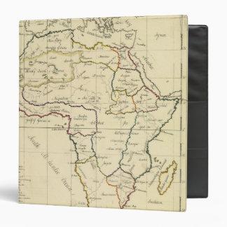 Africa, Mediterranean 3 Ring Binders