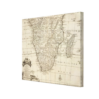 África meridional 4 impresión en lienzo estirada