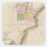 África meridional calcomanía cuadradase