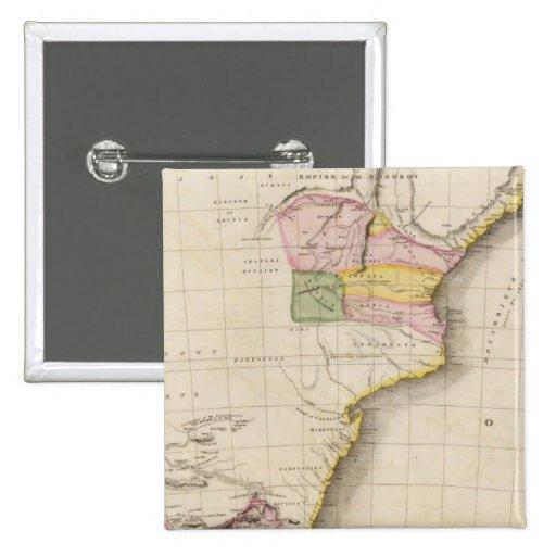 África meridional pin cuadrado