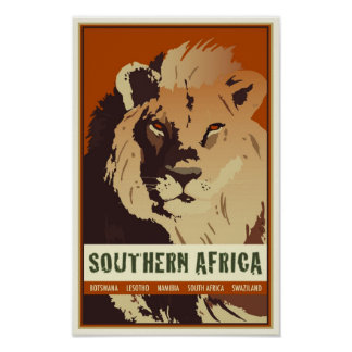África meridional póster
