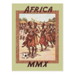 Africa MMX African womens tribal soccer dance Post Cards