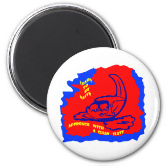 africa moon learn 2 inch round magnet