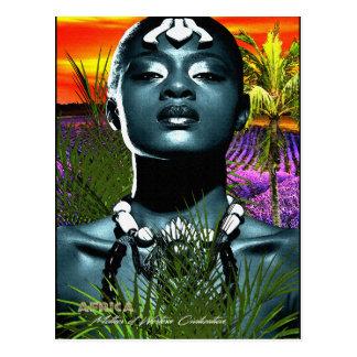 Africa Mother of Western Civilization Postcard